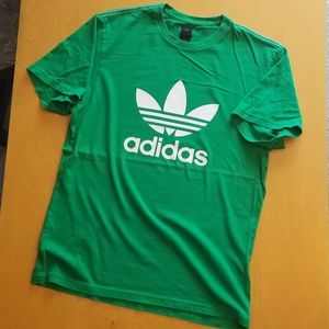 adidas Shirts - Adidas Originals Green T-shirt